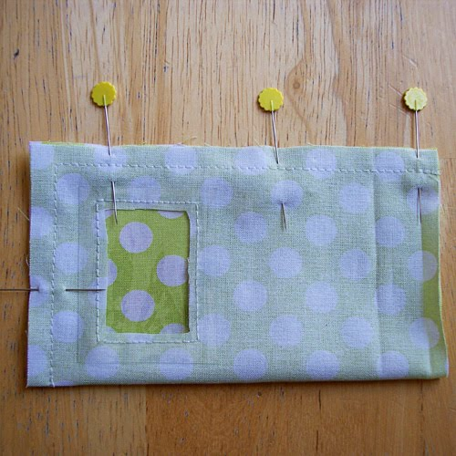 Reading game pouch step 3