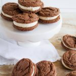 Peppermint Homemade Oreos - the perfect holiday treat recipe thirtyhandmadedays.com