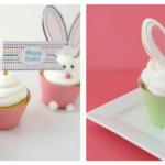 Hoppy Easter Printable + Cupcakes