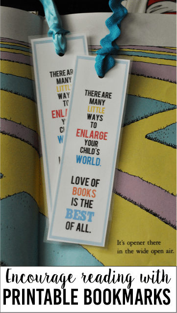 picture relating to Dr Seuss Printable Bookmarks titled Joyful Birthday Dr Seuss! (Printable Bookmarks)