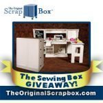 Cutting Mat Giveaway + entry to win a ($1295) Sewing Box from The Original Scrapbox !!