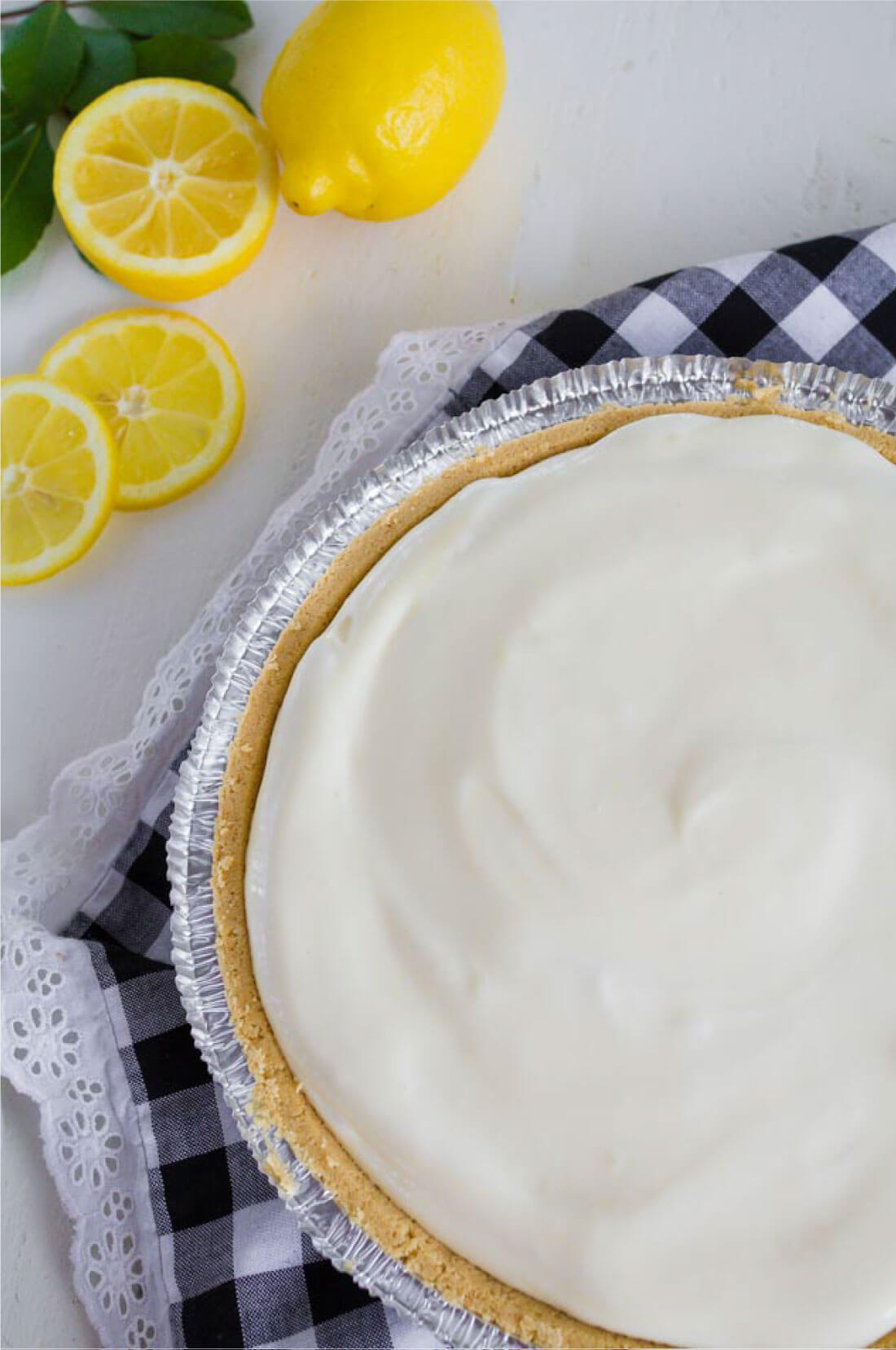 Lemon Pie Recipe - an easy and delicious dessert recipe that's perfect for summer.