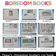 Idea Revisted: Boredom Books for Travel