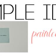 Simple idea: Paint your labels