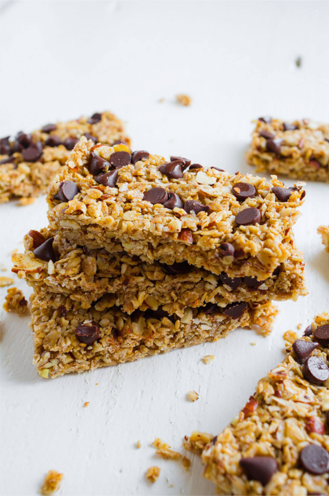 Homemade Granola Bars Recipe -way better than the store bought version. These taste amazing!