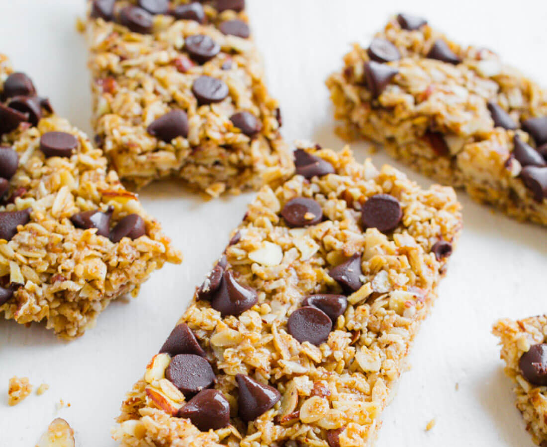 Homemade Granola Bars -way better than the store bought version. These taste amazing!