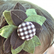 Fall Leaves Headband Tutorial Revisited