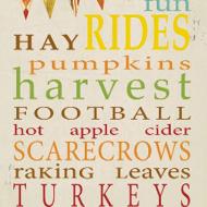 Fall Subway Art Printable
