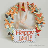 Fall Wreath: Lifestyle Crafts, Be Splendid
