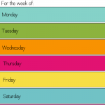 This Week for Dinner: Meal Plans Printable