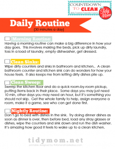 Daily Routine Checklists