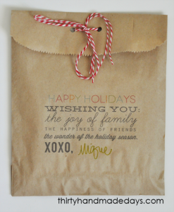 gift bag greeting