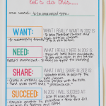 New Years Resolution Printable for YOU!