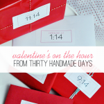 On the hour: Valentine Edition