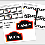 Classic Movie Night Printables