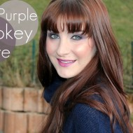 Valentines Day Makeup – Purple Smokey Eye