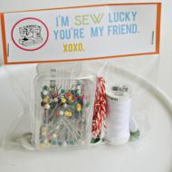 Craft Night: I'm Sew Lucky Printable