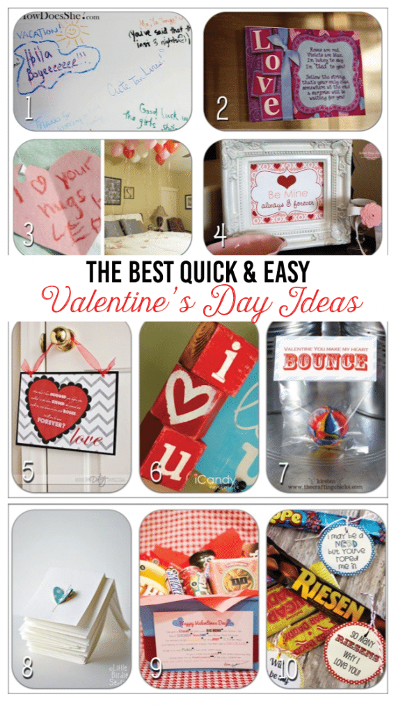 The best quick and easy Valentine's Day Ideas
