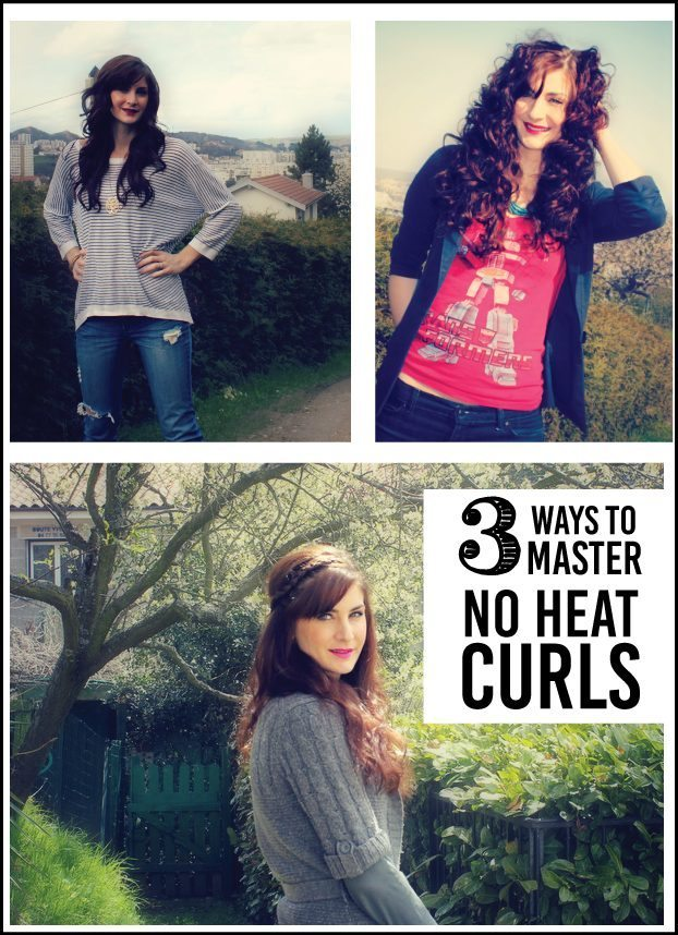 Learn how to master no heat curls with these 3 techniques!