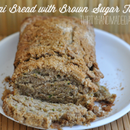 Zucchini Bread with Brown Sugar Topping