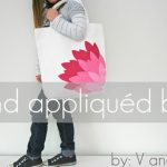How to Make a Hand Appliqued Bag