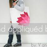 How to Make a Hand Appliqued Bag