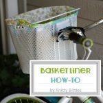 Basket Liner / How-To