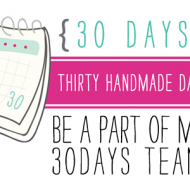 Be a part of my 30days team!