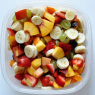 Birchermuesli (Swiss Fruit Salad)