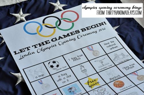 Kids Worksheets Olympics Bingo