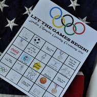 Kids Worksheets: Opening Ceremony BINGO
