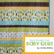 Basic Baby Quilt Tutorial