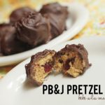 Peanut Butter and Jelly Pretzel Bites
