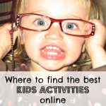 Where to Find the Best Kids Activities Online