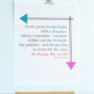 Dream Quote Printable