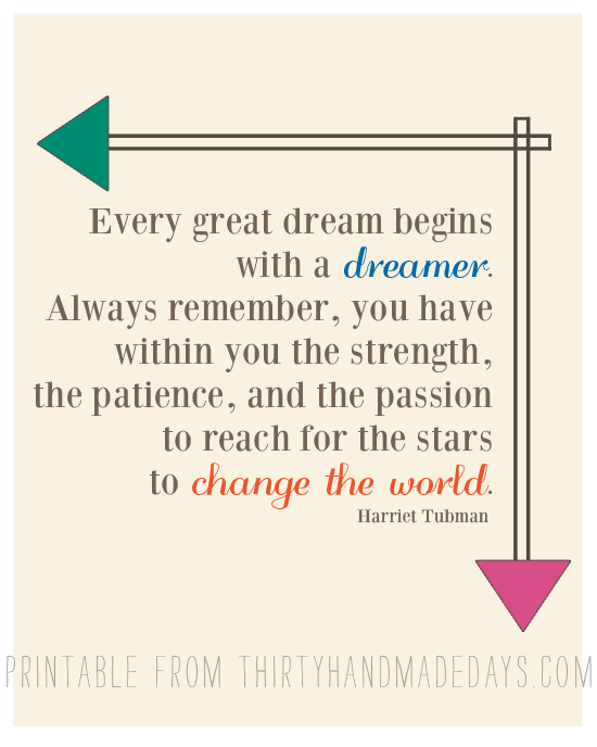 Dream Quote from 30daysblog
