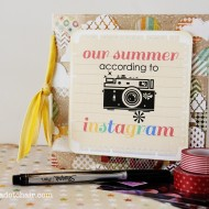 Instagram Mini Scrapbook & Ideas to Record Your Summer
