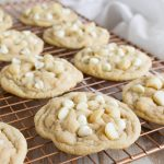 You won't find a better White Chocolate Chip Macadamia Nut Cookies recipe - rich and sweet, these will knock you off your feet.