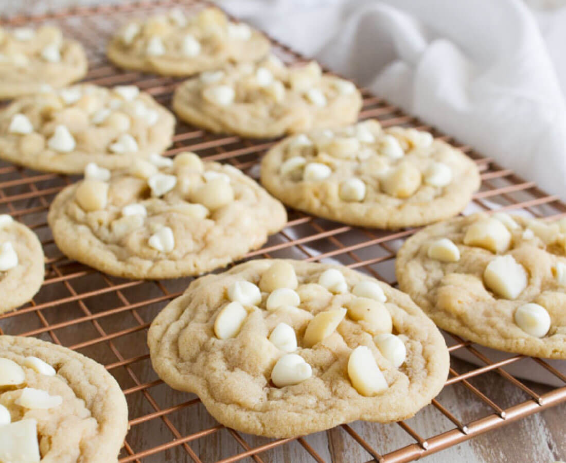 White Chocolate Chip Macadamia Nut Cookie Recipe