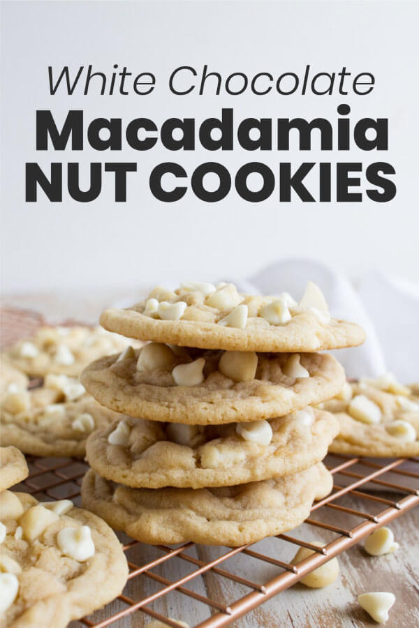 You won't find a better White Chocolate Macadamia Nut Cookies recipe - rich and sweet, these will knock you off your feet. www.thirtyhandmadedays.com