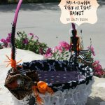 DIY Halloween Trick or Treat basket