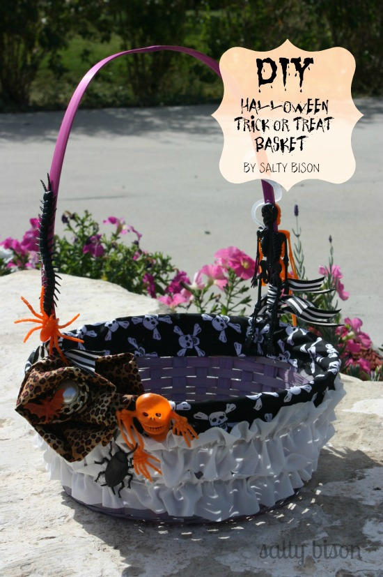 Halloween Trick or Treat Basket