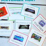 Leftover Candy Scavenger Hunt