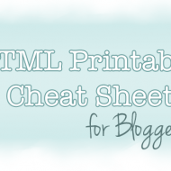 HTML Tutorial: Cheat Sheet For Bloggers