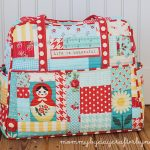Scrappy Patchwork Weekender Bag
