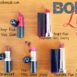 bold lip color choices