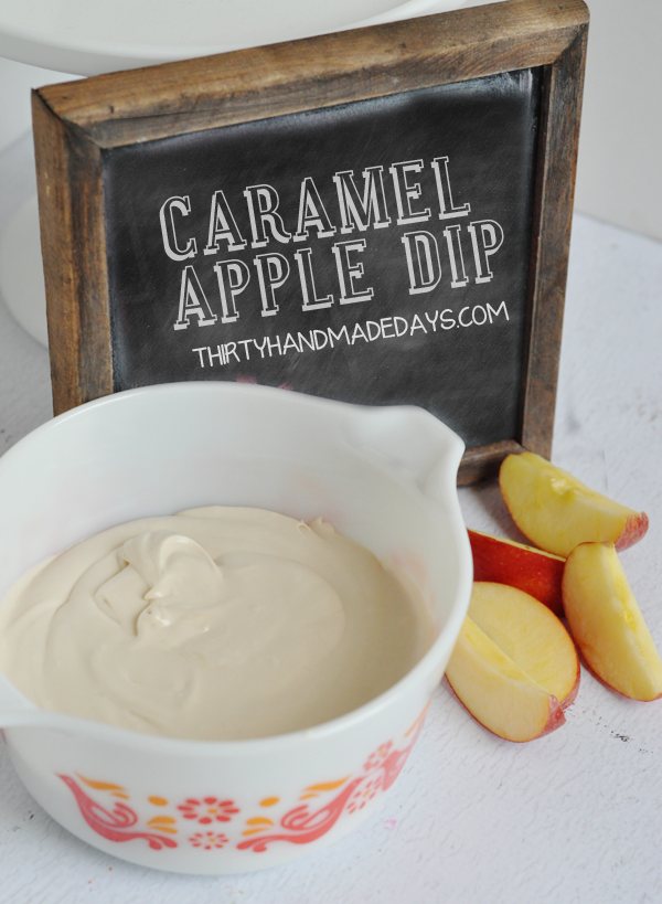 Apple Carame Dip