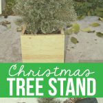 DIY Christmas Tree Stand Cover - make your own tree stand cover with this tutorial. www.thirtyhandmadedays.com