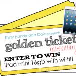 iPad Mini Giveaway for QBM shoppers!