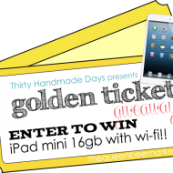 iPad Mini Giveaway for QBM shoppers!
